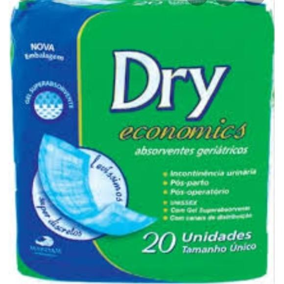Absorvente Geriátrico C/ 20Unid. -  Dry Economics