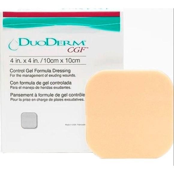 Curativo hidrocolóide DuoDerm 10cm x 10cm - Convatec 1 unidade