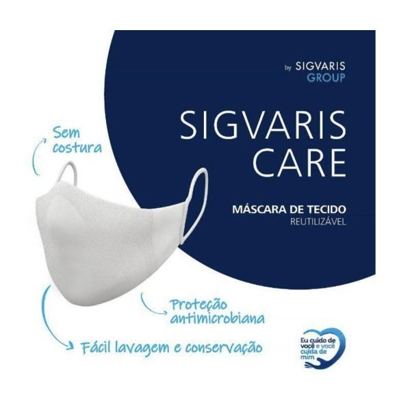 Máscara De Tecido Sigvaris Care 2 Unid.