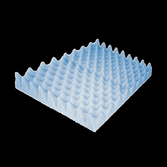 Almofada De Espuma Caixa De Ovo Quadrada - Aquasonus