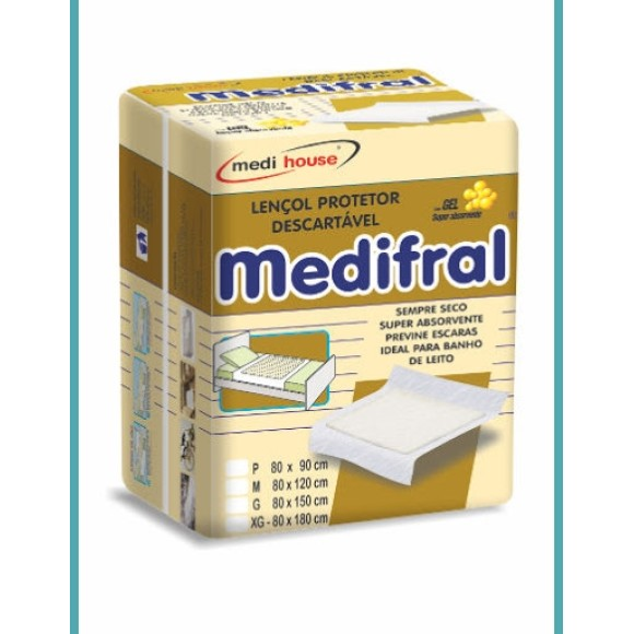 Lençol Protetor Descartável T: G - Medifral