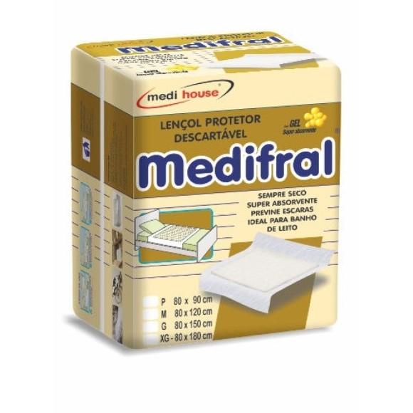Lençol Descartável Medifral  XG 6unid.  Medi House