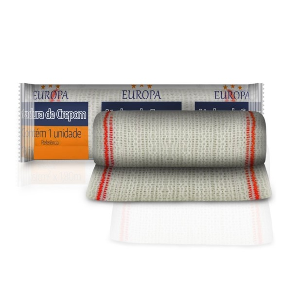 Atadura De Crepom 12cm x 1,8m - Europa