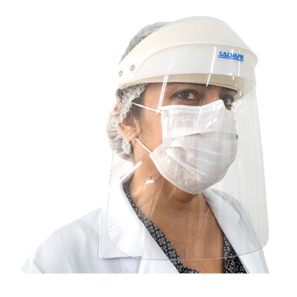 Face Shield – Protetor Facial – Salvapé