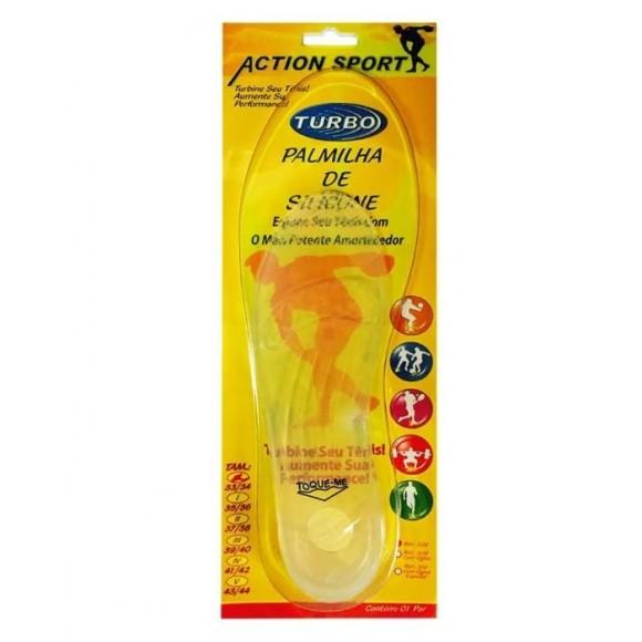 Palmilha De Silicone Action Sport 308 - Ortho Pauher